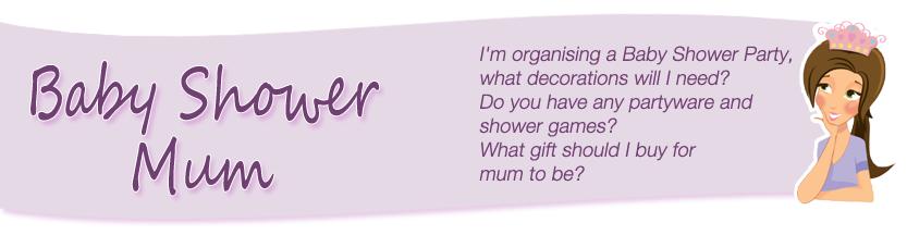 Baby Shower Mum