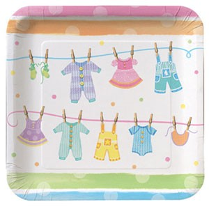 Baby Clothes plates