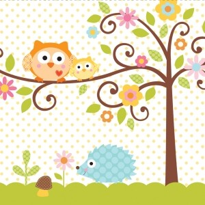 Happi Tree Baby Shower Cup Napkin