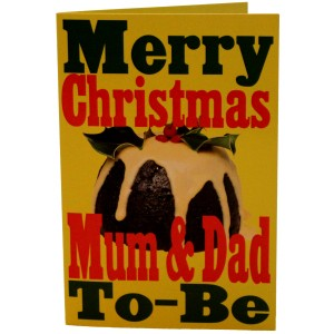 Merry Christmas Mum Dad To Be Card