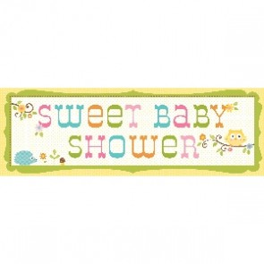 Happi Tree Baby Shower Giant Banner