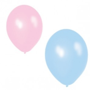 Pink and Blue Balloons