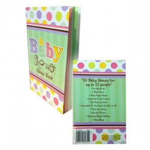 Baby Shower game book
