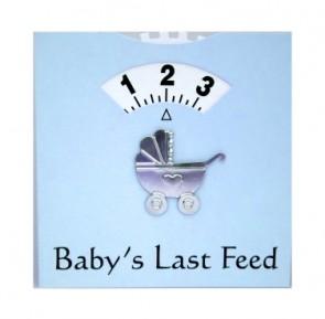 Blue Feeding Wheel