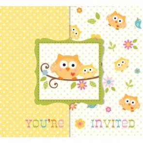 Happi Tree Baby Shower Invitation