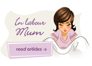 In labour mum article