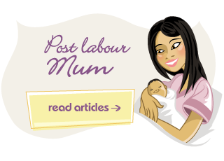 Post labour mum article