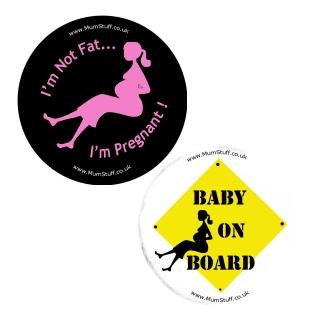 Exclusive Pregnancy Badges