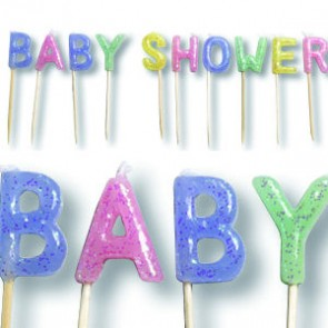 Baby Shower Candles