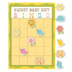 Happi Tree Baby Shower Bingo