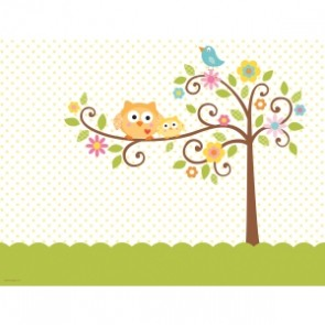 Happi Tree Baby shower Cup TableCloth