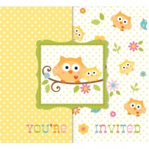 Happi Tree Baby Shower Invitation