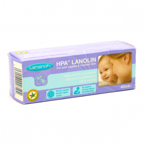 HPA Lanolin Nipple Soothing Cream 40 ml