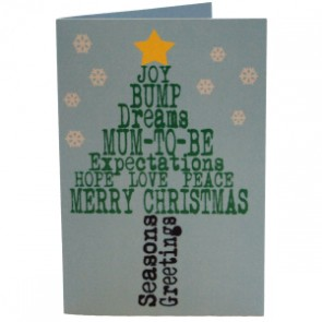 Merry Christmas Mum To Be Tree Card
