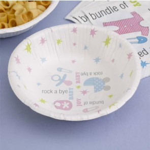 TF Baby shower Dessert bowls