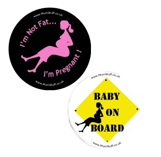 Exclusive Pregnancy Badges