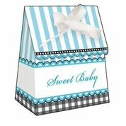 Sweet Baby Feet Blue - Baby Shower Favour Bags