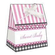 Sweet Baby Feet Pink - Baby Shower Favour Bags