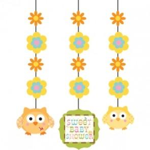 Happi Tree Baby Shower Hanging Cutouts