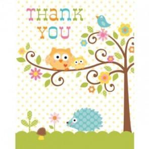 Happi Tree Baby Shower Thank You